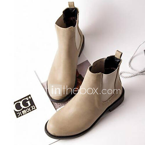 Amazing Plus Size Women 8 Eye 1460 Lace Up Flat Military Combat Ankle Boots
