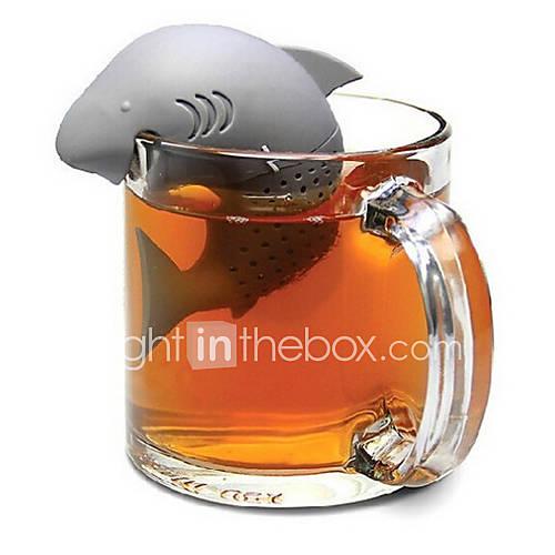dispositivo de tipo de tiburón para hacer té Descuento en Lightinthebox
