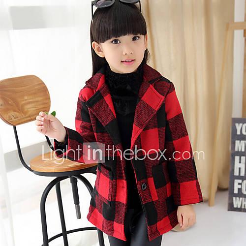 veste manteau fille de hiver printemps automne polyester noir rouge de 4512100 2016. Black Bedroom Furniture Sets. Home Design Ideas