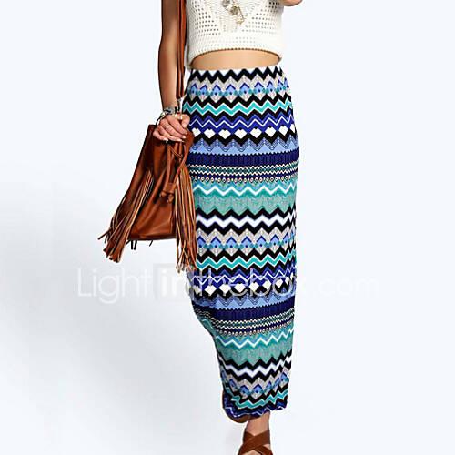 s sell well floor length pencil skirt print multi
