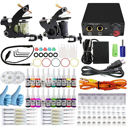Itatoo tattoo kits for beginners with 2 beginner tattoo for Beginner tattoo kits