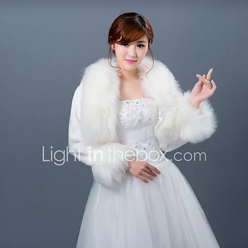 Winter wedding robe coat bridesmaid dresses shawl 4431877 for Winter shawls for wedding dresses