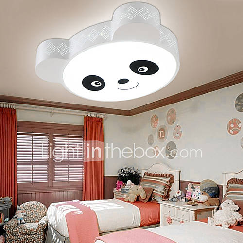 remote control flush mount led ceiling light modern bedroom kids room white warm white. Black Bedroom Furniture Sets. Home Design Ideas