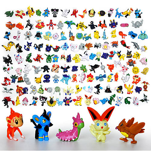 Pokemon Toys Right : Pcs lot pokemon action figures new cute monster mini