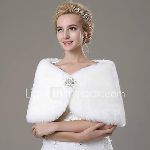 wraps-casamento-xales-em-pelo-xales-sem-mangas-pelo-artificial-marfim-casamento-festa-casual-strass-fecho