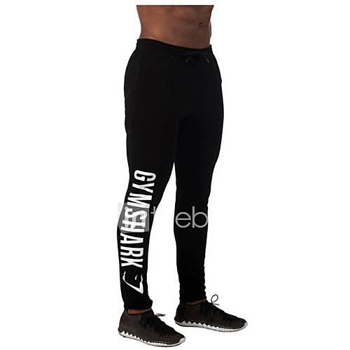 Carrera / Running Pantalones/Sobrepantalón / Leggings Hombres Transpirable / Reductor del Sudor Deportes recreativos Deportes Corte Ancho Descuento en Lightinthebox