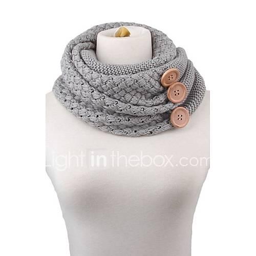 Bufanda Mujer Casual-Mezcla de Algodón Descuento en Lightinthebox