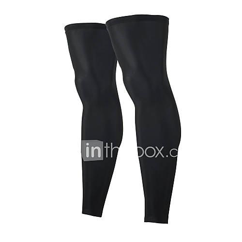 Calentadores de la pierna/Polainas BicicletaTranspirable Mantiene abrigado Secado rápido Resistente a los UV A prueba de resbalones Lightinthebox