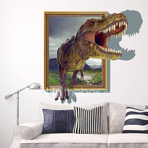 3D Sticker Wall Dinosaur Stickers For Dining Room Kid Room Decorations Wall D