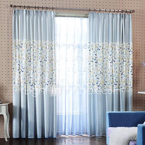 Stiksels vlinder cartoon kind kamer poly katoen blackout blauw gordijn n paneel zonder pure - Kamer gordijnen kind ...