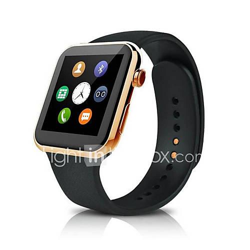 a9 reloj inteligente con la frecuencia cardíaca para apple iphone 5 5s 6 más samsung huawei htc teléfono inteligente Android Descuento en Lightinthebox