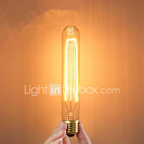 E27 40w Creative Tube Type Incandescent Light Bulbs Classic Silk Reeling Bulb 4525299 2016