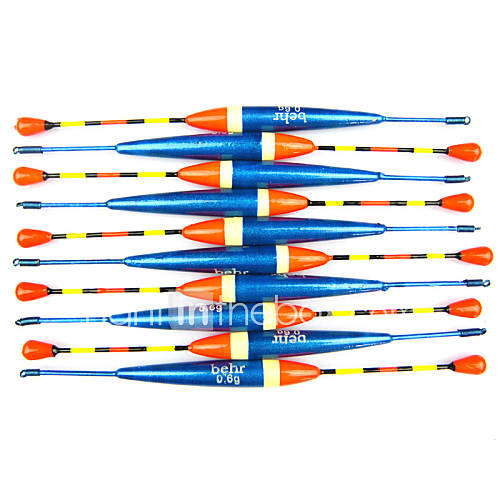Hot sale 10pcs 0 6g vertical buoy fish floats bobbers for Fishing bobbers for sale
