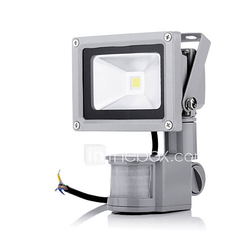 10w 1000lm 2800 6500k white light pir motion sensor led flood light. Black Bedroom Furniture Sets. Home Design Ideas