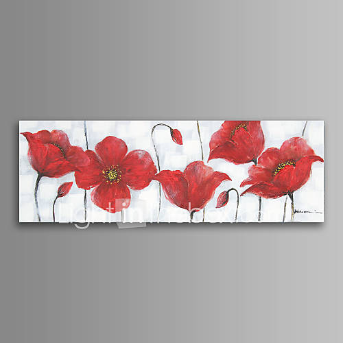 flower wall art canvas print ready to hang 20 60 inch 4569351 2016. Black Bedroom Furniture Sets. Home Design Ideas