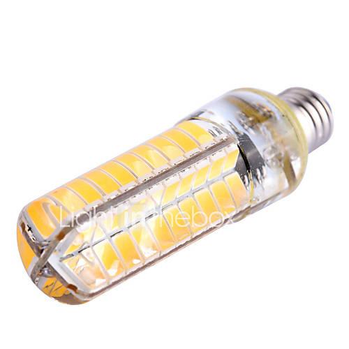 YWXLight E17/E12/E11 8W 80SMD 5730 600-700lm Warm/Cool White Dimmable LED Corn Lights AC 220/110V 1pc