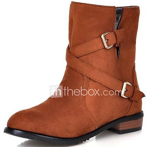 Zapatos de mujer tac n robusto cowboy botas a la - Zapatos de trabajo ...