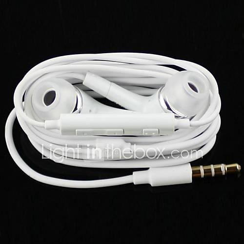 auriculares estéreo de alta calidad en la oreja del auricular del metal auriculares manos libres con micrófono 3.5mm auriculares para Descuento en Lightinthebox