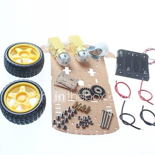 diy-chassis-do-carro-robo-chassis-do-carro-inteligente