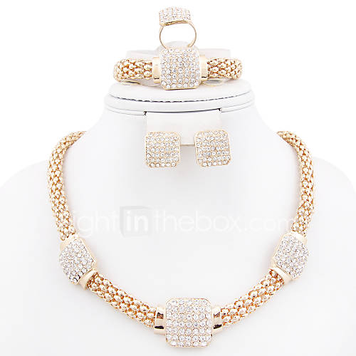 joias-colares-brincos-aneis-bracelete-casamento-pesta-diario-casual-liga-1conjunto-feminino-dourado-presentes-de-casamento
