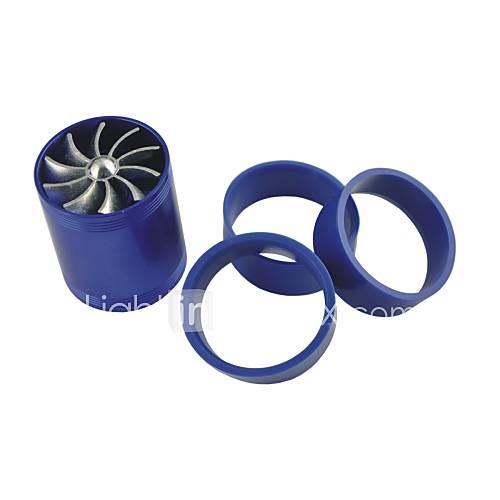veiculos-automoveis-dupla-turbina-do-ventilador-turbo-entrada-de-poupanca-de-combustivel-de-gas-azul