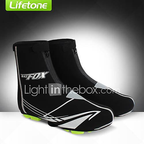 Protectores de Zapatos/Sobrecalzado Bicicleta Impermeable / Mantiene abrigado / Resistente al Viento Unisex Negro Espándex Lightinthebox