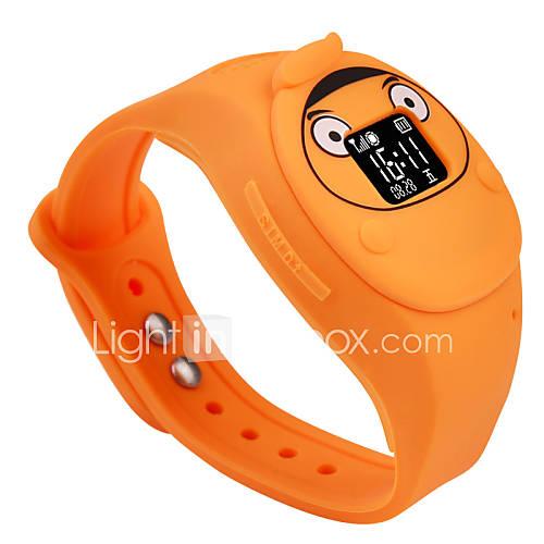 2016 nuevo diseño de los niños de alta calidad GPS del teléfono reloj sos para niños de seguridad segura Descuento en Lightinthebox