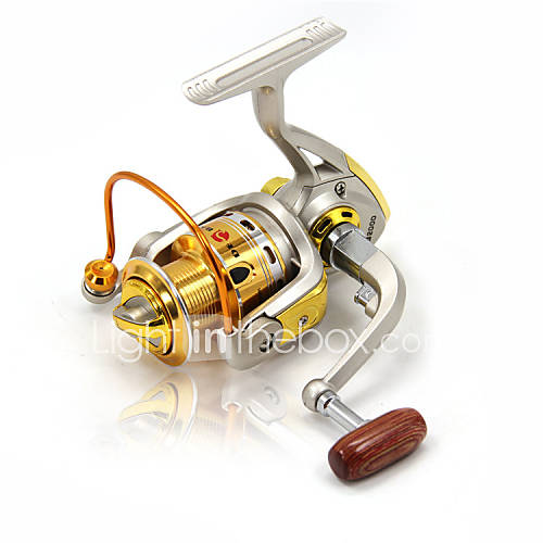 2000 3000 4000 spinning reels 5 2 1 10 ball bearings for Bass fishing spinning reels