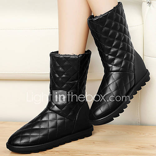 s shoes patent leather wedge heel snow boots boots
