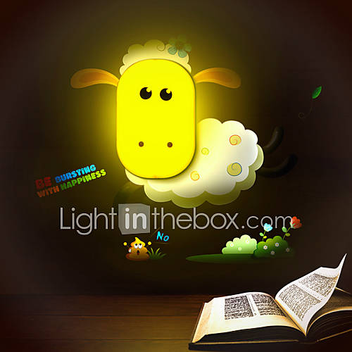 Wall Light Children S Room : 9*6*14CM Fun To Play With Creative Spirit Intelligent Light-Control Small Night Light Children ...
