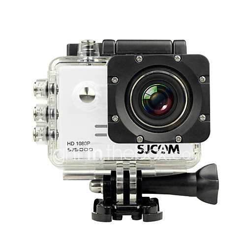 SJCAM SJ5000 Cámara acción / Cámara deporte 12MP / 14MP 4000 x 3000 LCD / Impermeable 4X ± 2 EV 2 CMOS 32 GB H.264Disparo Simple / Descuento en Lightinthebox