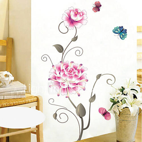 Navidad florales d a festivo paisaje pegatinas de - Calcomanias para paredes ...