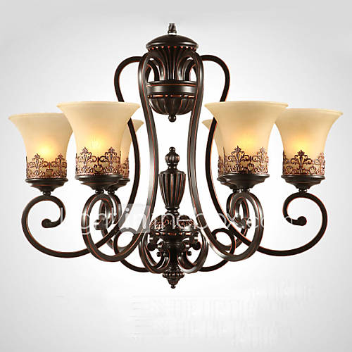 lights 6 lights vintage country island living room bedroom dining