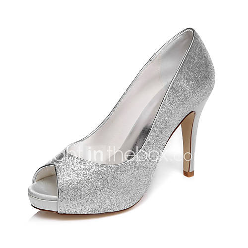 Unique Champagne Satin Bridal Wedding Dress Shoes Flat Heel Pointed Toe Formal Dress ShoesLady Party ...