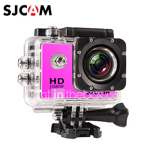 SJCAM SJ4000 Cámara acción / Cámara deporte 12MP 4000 x 3000 LCD / Impermeable / Múltiples Funciones / Gran Angular 30fps 4X 2 CMOS 32 GB Descuento en Lightinthebox