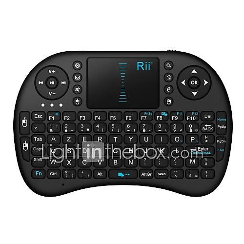 rii i8 mini 2 4ghz clavier tactile sans fil avec la souris. Black Bedroom Furniture Sets. Home Design Ideas