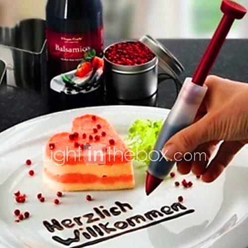 Cake Decor Pens : Cake Decorating Chocolate Sauce Write Pen Cream Decorating ...
