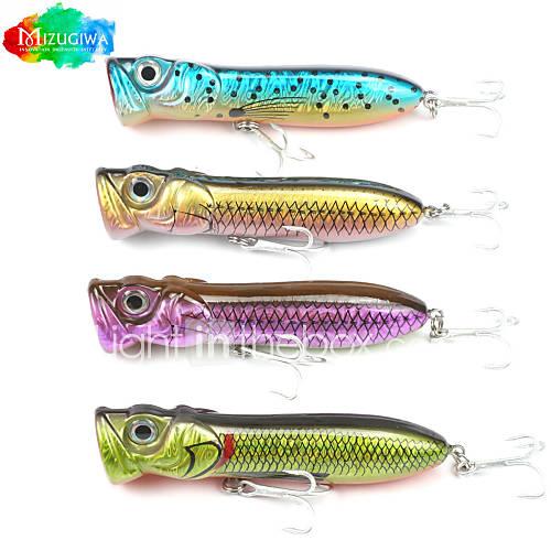 Mizugiwa 1pcs bass pike fishing lure hard bait walleye for Walleye fishing lures