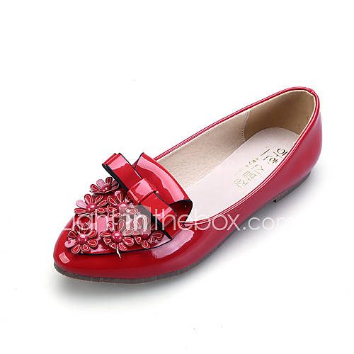 s shoes flat heel comfort pointed toe closed toe