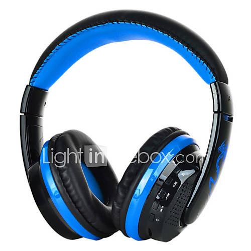 auricular bluetooth voz de auriculares w / micrófono del auricular fm / tarjeta SD para el ordenador portátil PC teléfono mp3 dropship Descuento en Lightinthebox