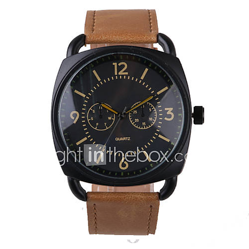 business style brown leather belt s cool watches