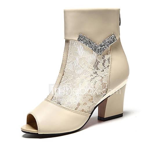 Chunky Wedding Heels: Women's Shoes Synthetic Chunky Heel Heels Heels Wedding