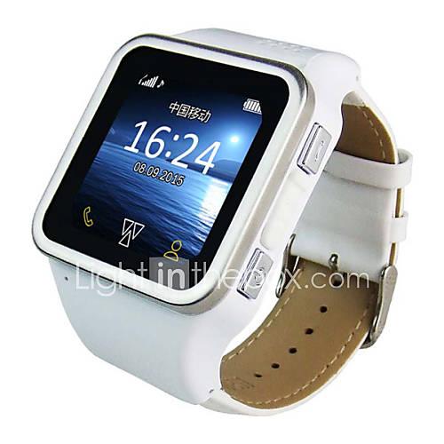ranura para tarjeta sim barato elegante reloj teléfono inteligente con mp4 Descuento en Lightinthebox
