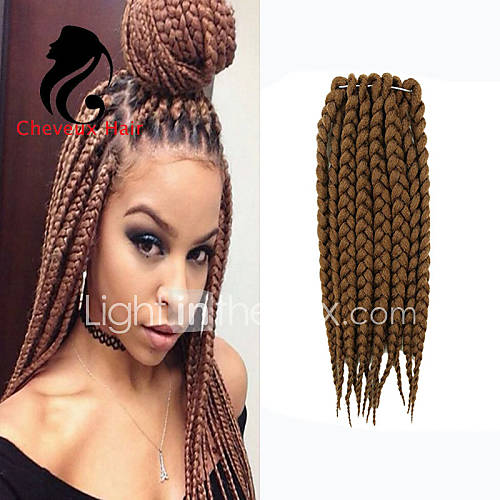 Marley Braiding Hair Afro Twist Braids Dreadlocks Crochet Braid ...