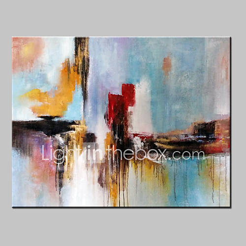 Hand-Painted Abstract Fantasy Modern Oil Painting On ...