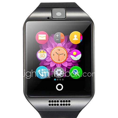 q18 reloj inteligente con la cámara de la pantalla táctil para el teléfono Android y iOS Descuento en Lightinthebox