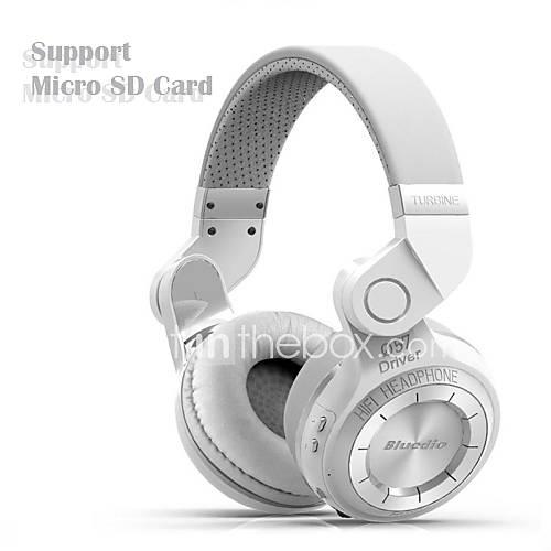 auriculares inalámbricos t2  bluedio estéreo bluetooth micrófono incorporado micro-sd / radio FM bt4.1 más de auriculares internos Descuento en Lightinthebox
