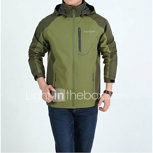 Men outdoor soft shell jacket waterproof breathable quick for Waterproof fishing clothing