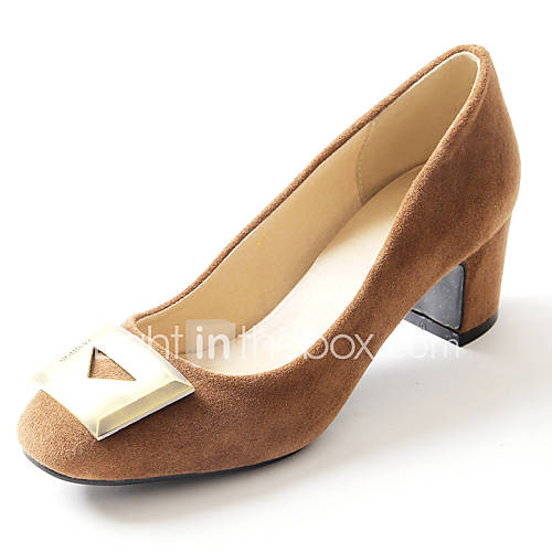 s shoes fleece chunky heel heels toe heels