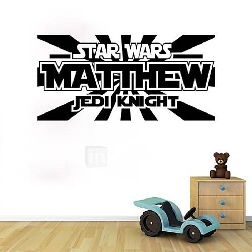 Star Wars Wall Sticker Home Decor Living Room Removable